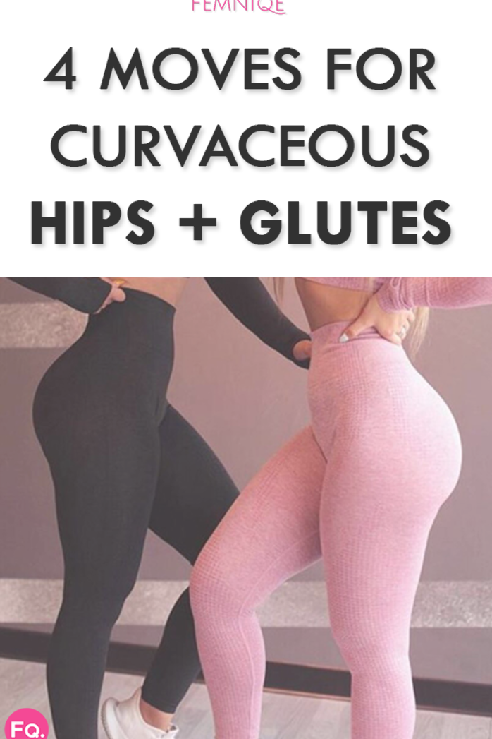 If a shapelier glutes and hips are your goal, this quick home routine will help you get there as lo