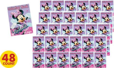 Minnie Mouse Coloring Books Party City Minnie Mouse Theme Party Book Party Minnie Mouse Theme
