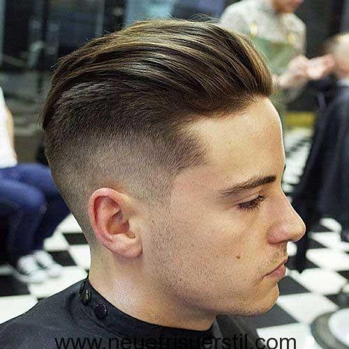 Undercut Stil Fur Mittlere Haar Haarschnitt Frisuren Undercut Frisuren Manner