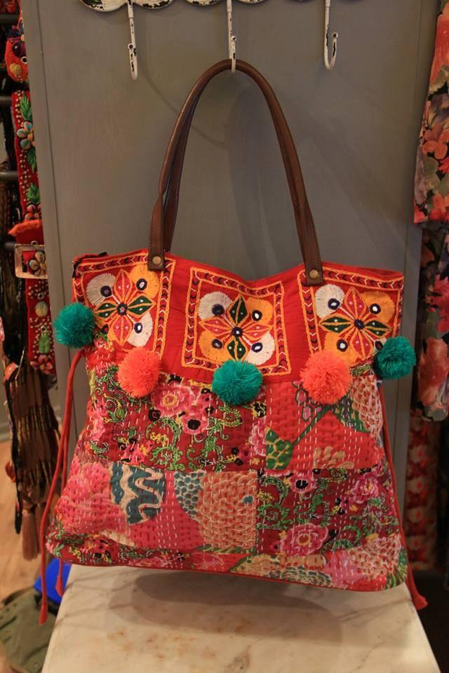 4c44b3dd1 Bolso. Daksha. www.daksha.com.ar Boho chic. Hippie chic. India ...