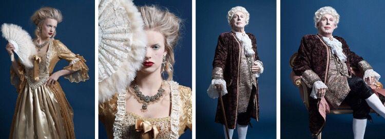 Kostuums gebaseerd op de barok & rococo