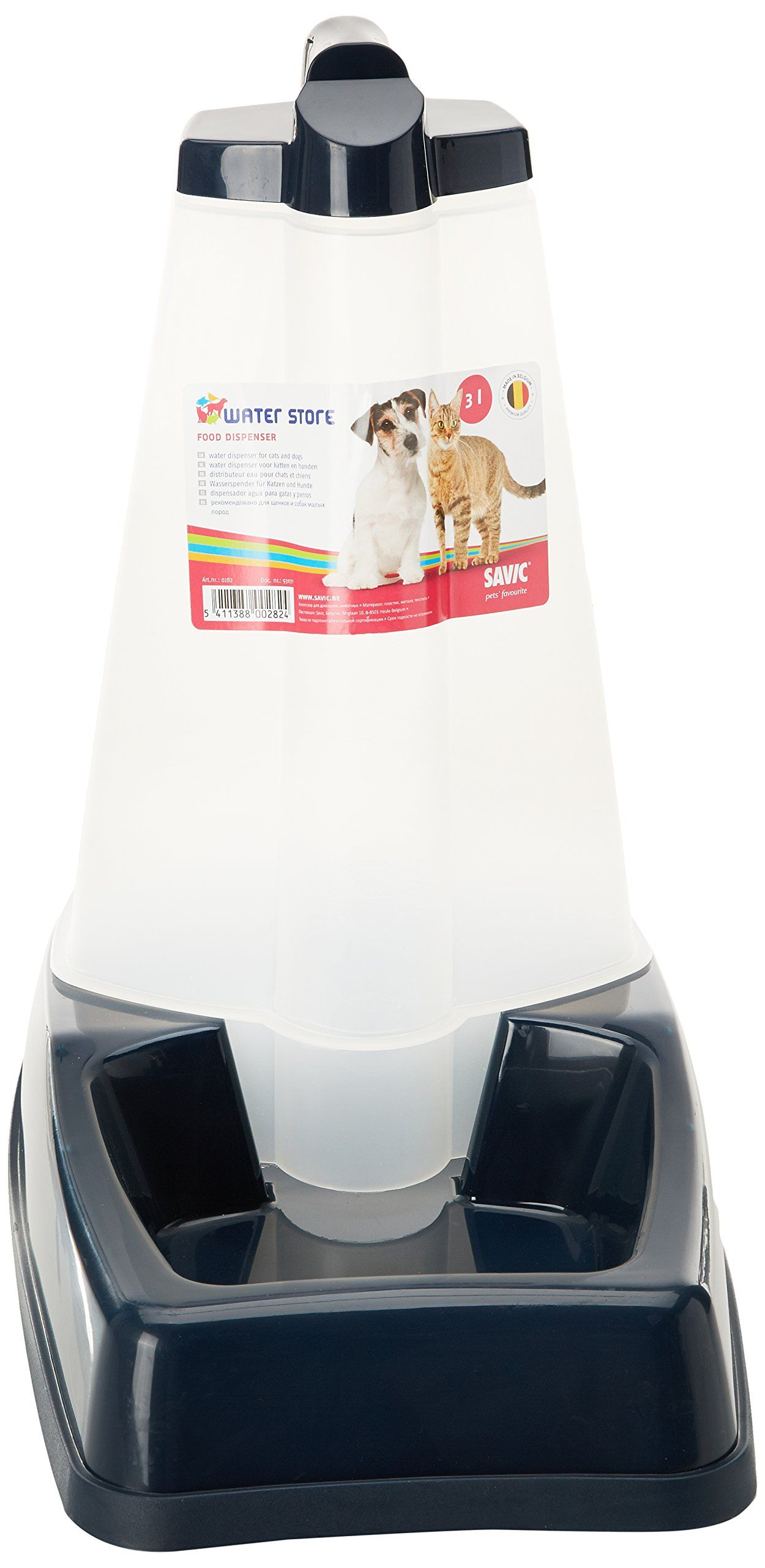 Monster Pet Supplies Savic Water Store Refillable Gravity Drinkers 3ltr Learn More By Visiting The Image Link This Is Water Dispenser Dispenser Dog Feeder