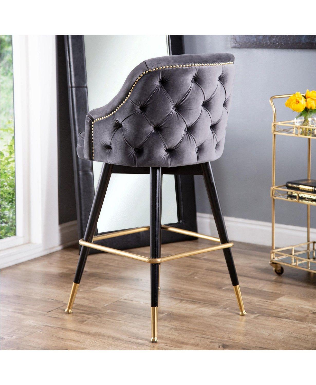 Abbyson Living Ella Bar Stool & Reviews   Furniture   Macy's in ...
