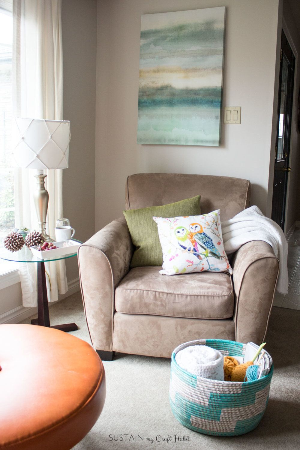 Cozy Living Room Decorating Ideas And Other Self Care Tips For Busy Moms