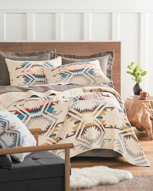 White Sands Printed Quilt Set In 2020 Western Home Decor Bedroom Decor Home Decor