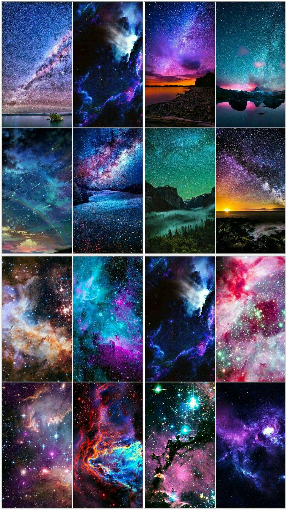 Epingle Par Leli Sur Aquarelle Peinture De Galaxie Peinture De