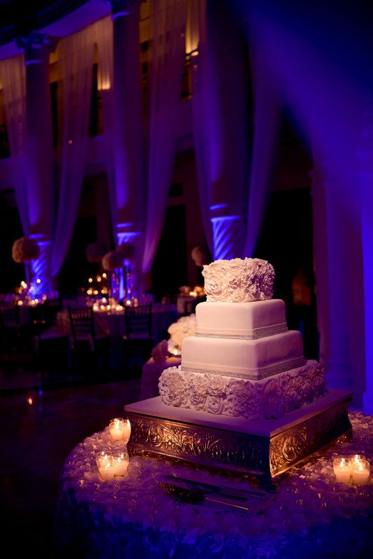 Simply Captivating Wedding Westin Colonnade Coral Gables Cake Details