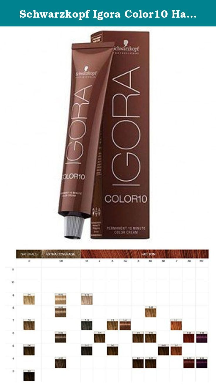 Schwarzkopf Igora Color10 Hair Color 5 0 Light Natural Brown 2 1oz Igora Color10 With Full Spe Hair Color Medium Length Hair Styles Beauty And Personal Care
