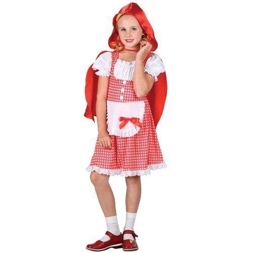 Childrens Storybook Little Red Riding Hood Girls Fancy Dress Book