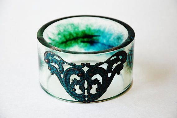 XLXXL Wrist Size Bangle bracelet. new handmade Queen by RESILIN, $85.00