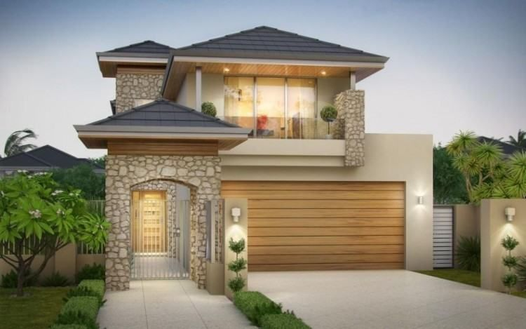 10m Frontage House Designs Brisbane Narrow Lot House Plans Narrow House Plans Luxury House Designs
