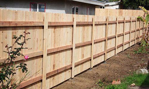 Cedar Fencing Wood Fence Design Cedar Fence Fence Styles