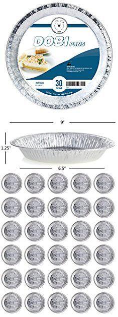 Disposable Pie Plates. DOBI Pie Pan Disposable Aluminum Foil Plate Pack of 30  sc 1 st  Pinterest & Disposable Pie Plates. DOBI Pie Pan Disposable Aluminum Foil Plate ...