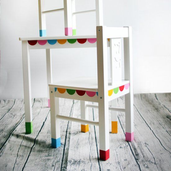 DIY Kids Table Makeover Customize Your Kids Furniture