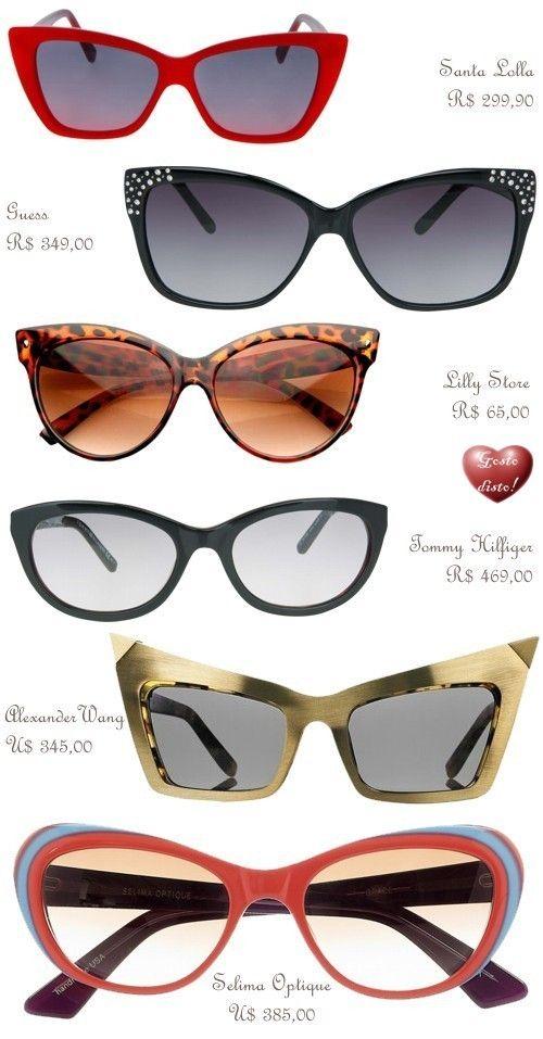 Óculos de Gatinho - Cat-Eye Sunglass