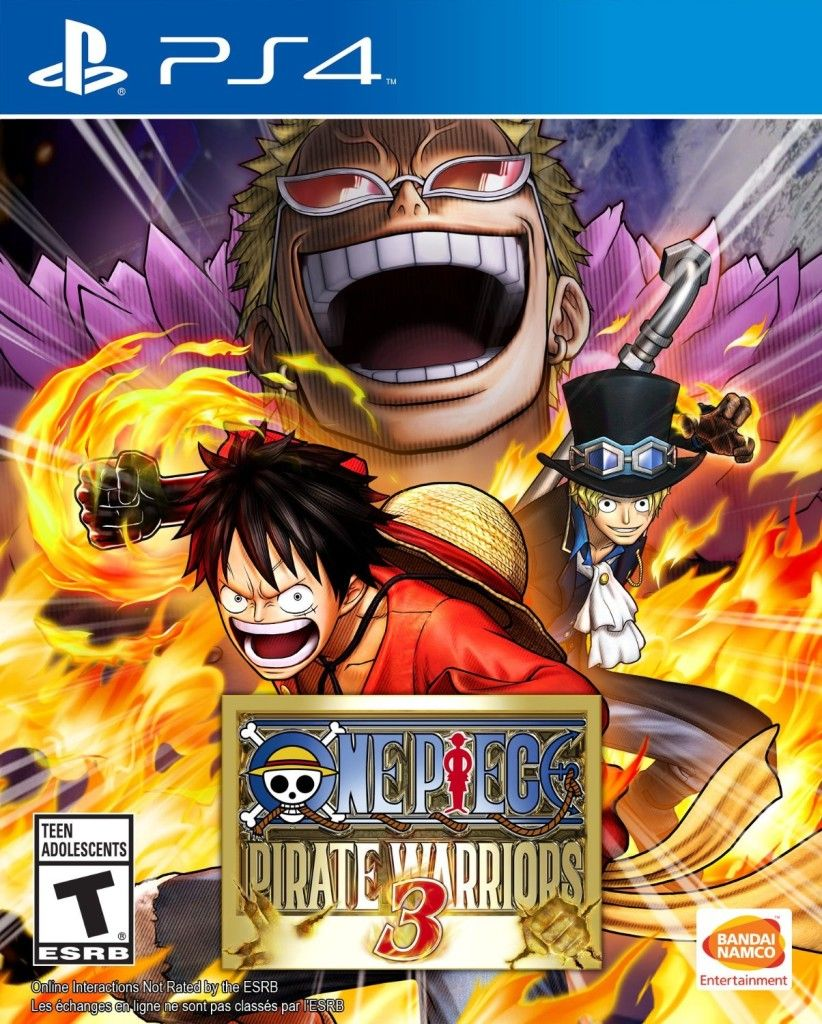 One Piece Pirate Warriors 3 Playstation 4 Ps4 Playstation 4