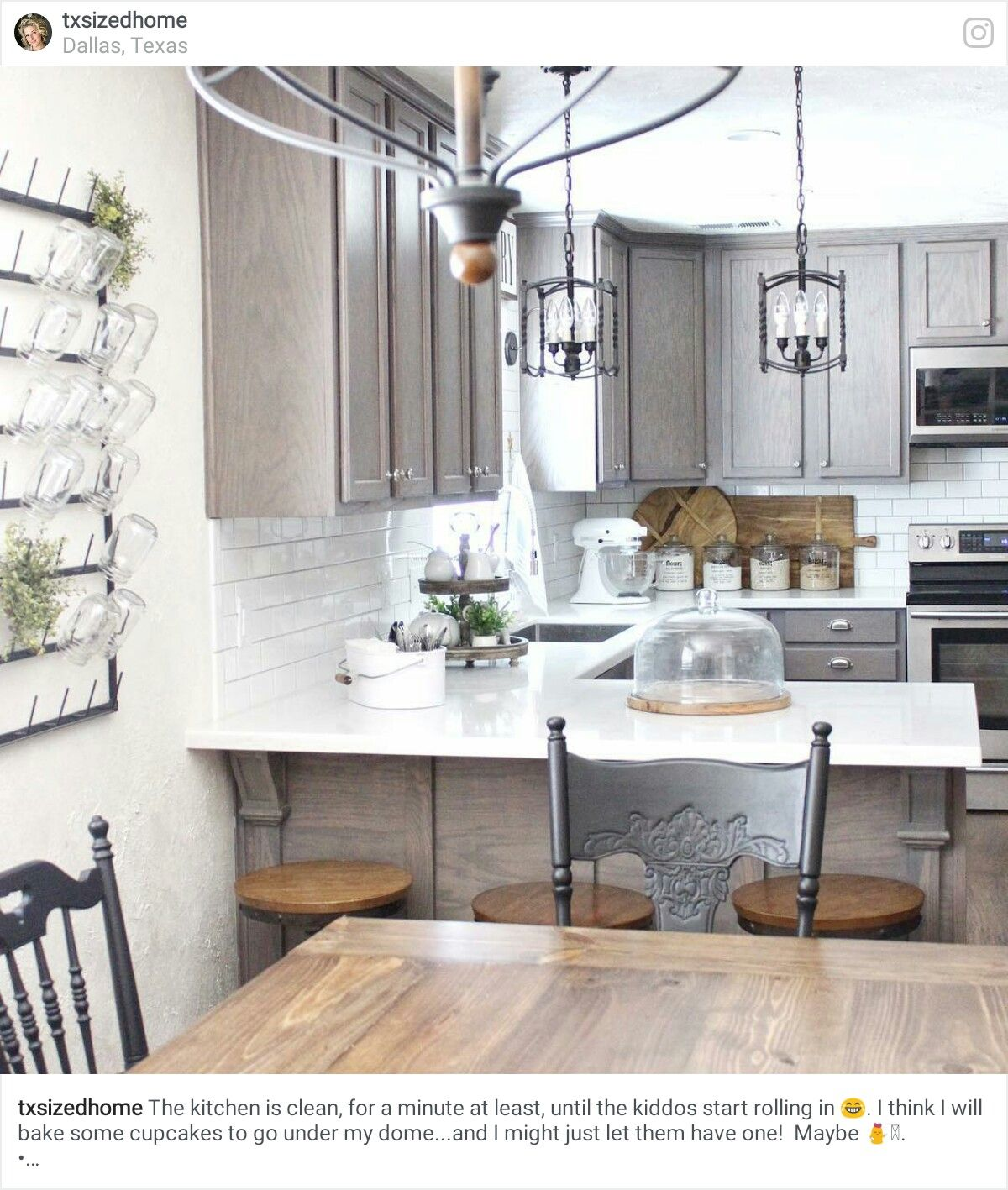 Pin by Yonnie Smith on Stylish Kitchens - Modern/Traditional Look ...