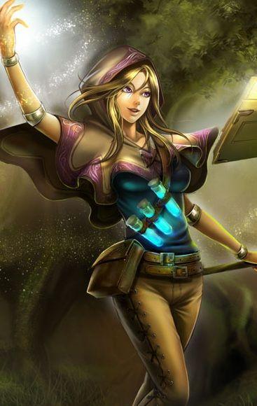 Spellthief Lux League Of Legends League Fantasy Characters