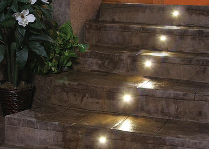 Nice Outdoor Pavers Stairs | Outdoor LED Lighting, Indoor LED Cabinet Lighting |  DEKOR™ CANADA