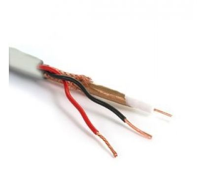 1000ft Rg59 Siamese With 2 Conductors Power Cable Power Cable Power Wire Cable