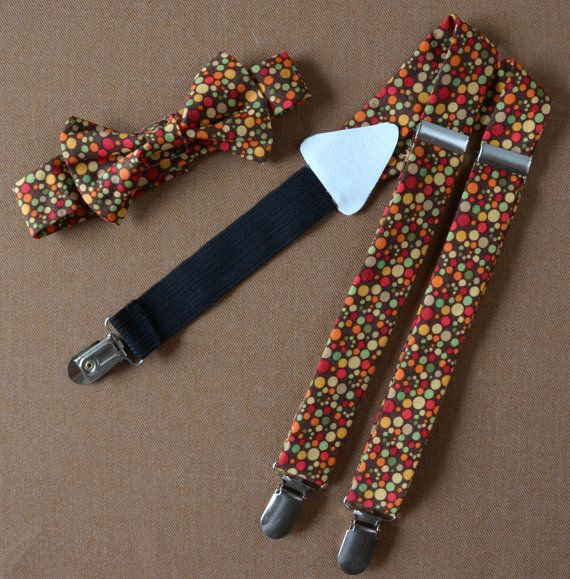Fall Tie and suspender sets