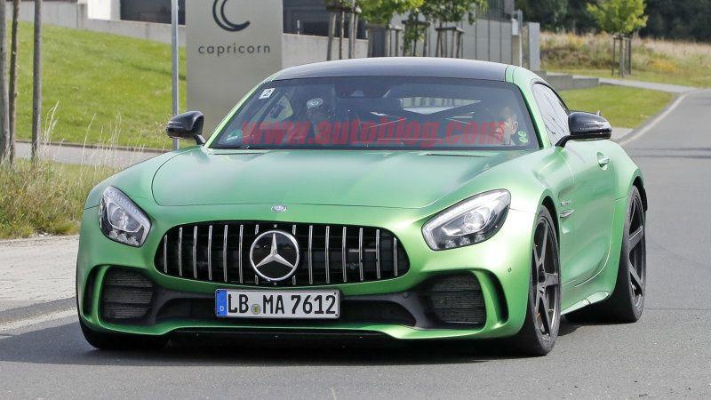 MercedesAMG GT R 'Black Series' hits the Nurburgring