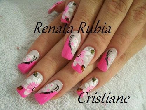 Uñas decoradas | Diseños de uñas, Uñas y Uñas decoradas ...