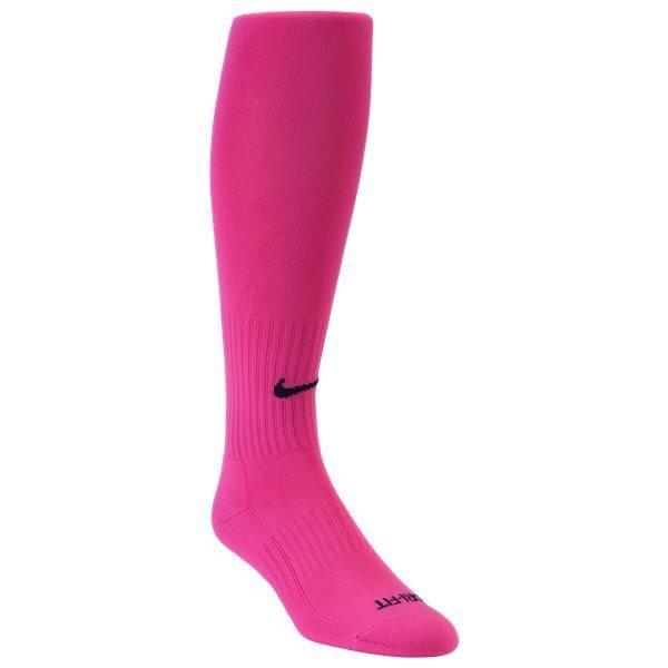 Nike Classic Soccer Socks Hot Pink In 2020 Soccer Socks Nike Classic Nike
