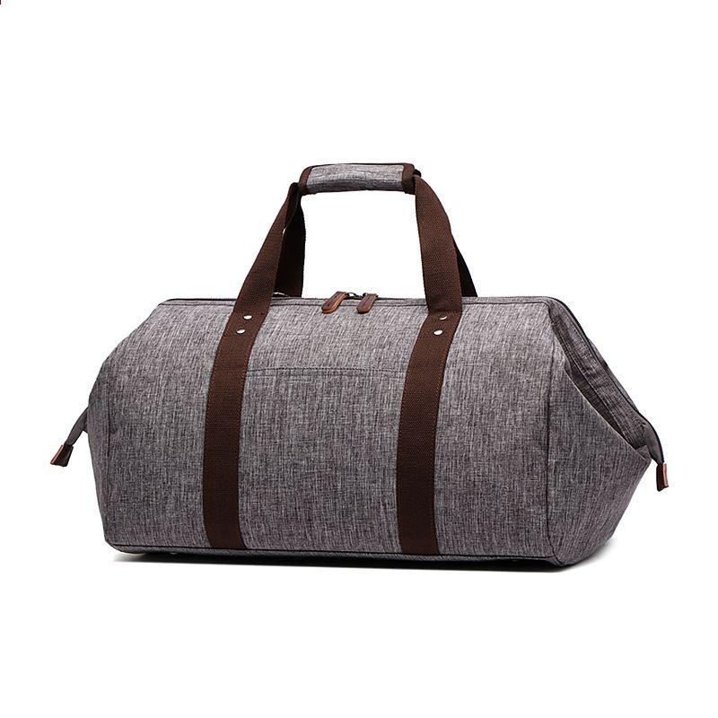 5adbb0faf0a4a Wodoodporna torba podróżna Duża pojemność Mężczyźni Bagaż podróżny Kobiety  Torby podróżne Torba podróżna Weekendowa Wielofunkcyjna torba