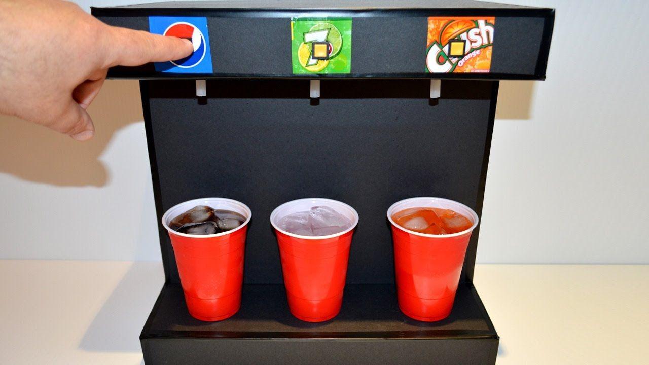 How To Make Soda Fountain Machine At Home Soda Fountain Machine Soda Machines Soda Fountain