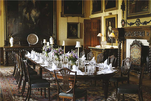 Heroes At Highclere Experience The Real Downton Abbey  Downton Beauteous Highclere Castle Dining Room Review