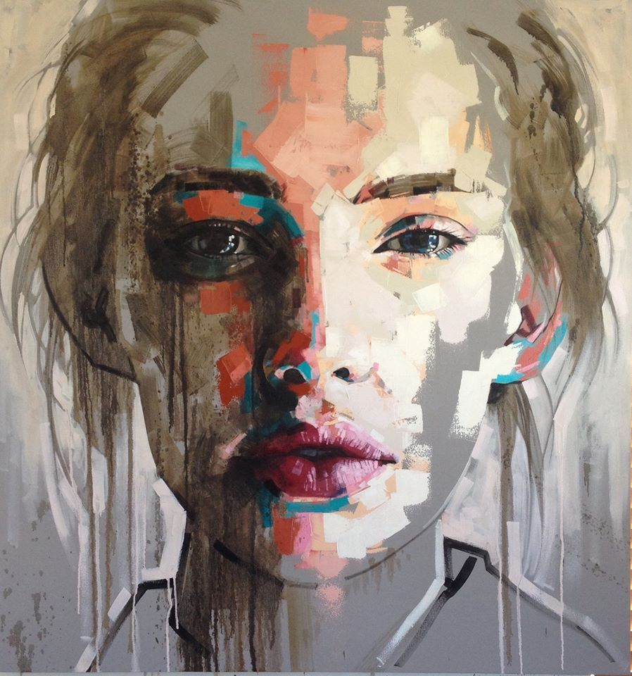 Jimmy Law, 1970 | Abstract portrait painter
