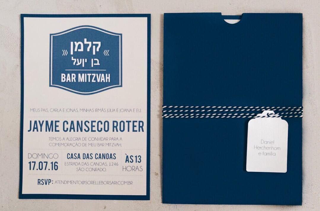 Convite Bar Mitzva Convite Bar Mitzvah Convite Bar Mitzvah