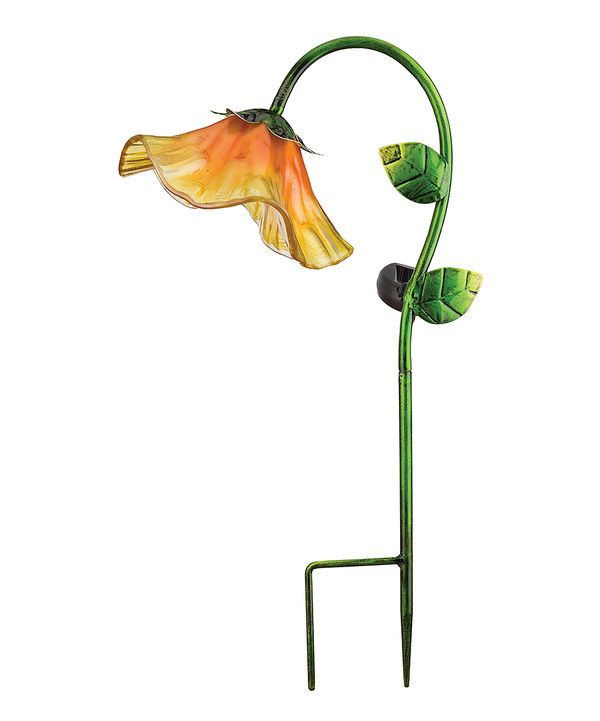 Look At This Yellow Bell Flower Garden Stake On #zulily Today!