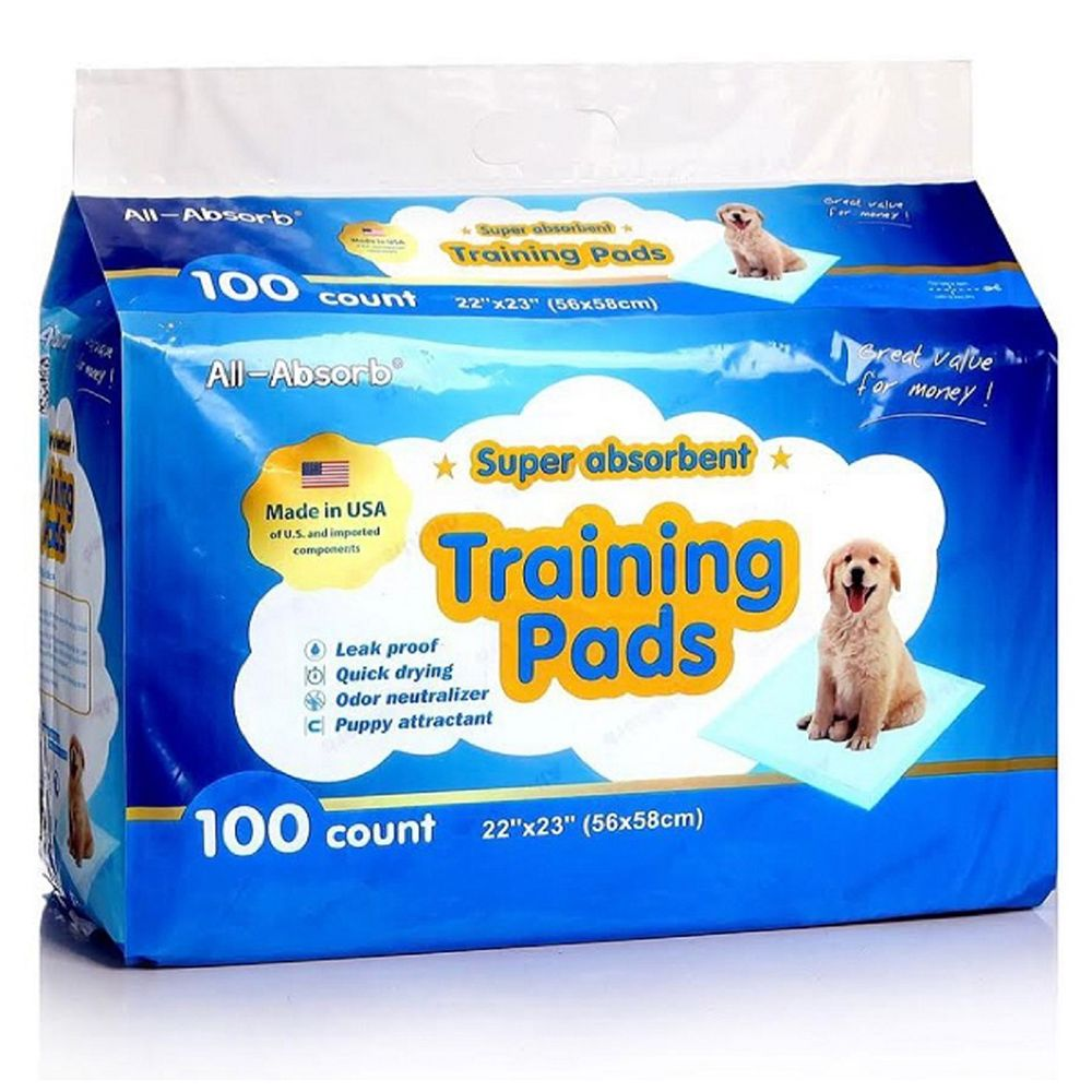 All Absorb Super Absorbent Training Pads Are Leakproof Quick