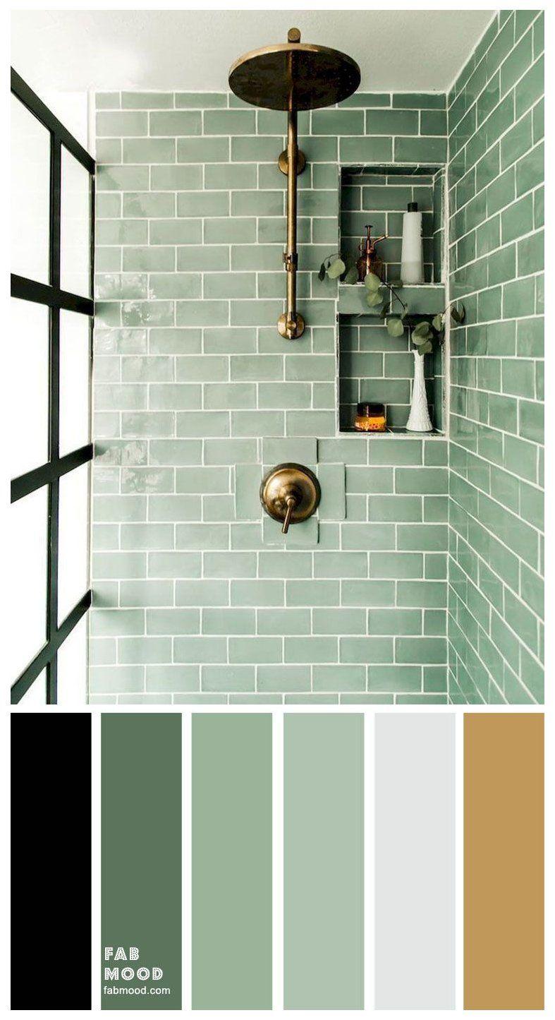8 Beautiful Color Schemes For Bathroom Color Ideas Tile Combinations Bathroom Color Schemes I Don Bathroom Color Bathroom Colors Bathroom Interior Design