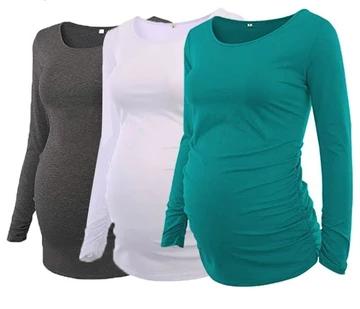 Three Pack Maternity Long Sleeve Tee $49.95 – Baby stuff