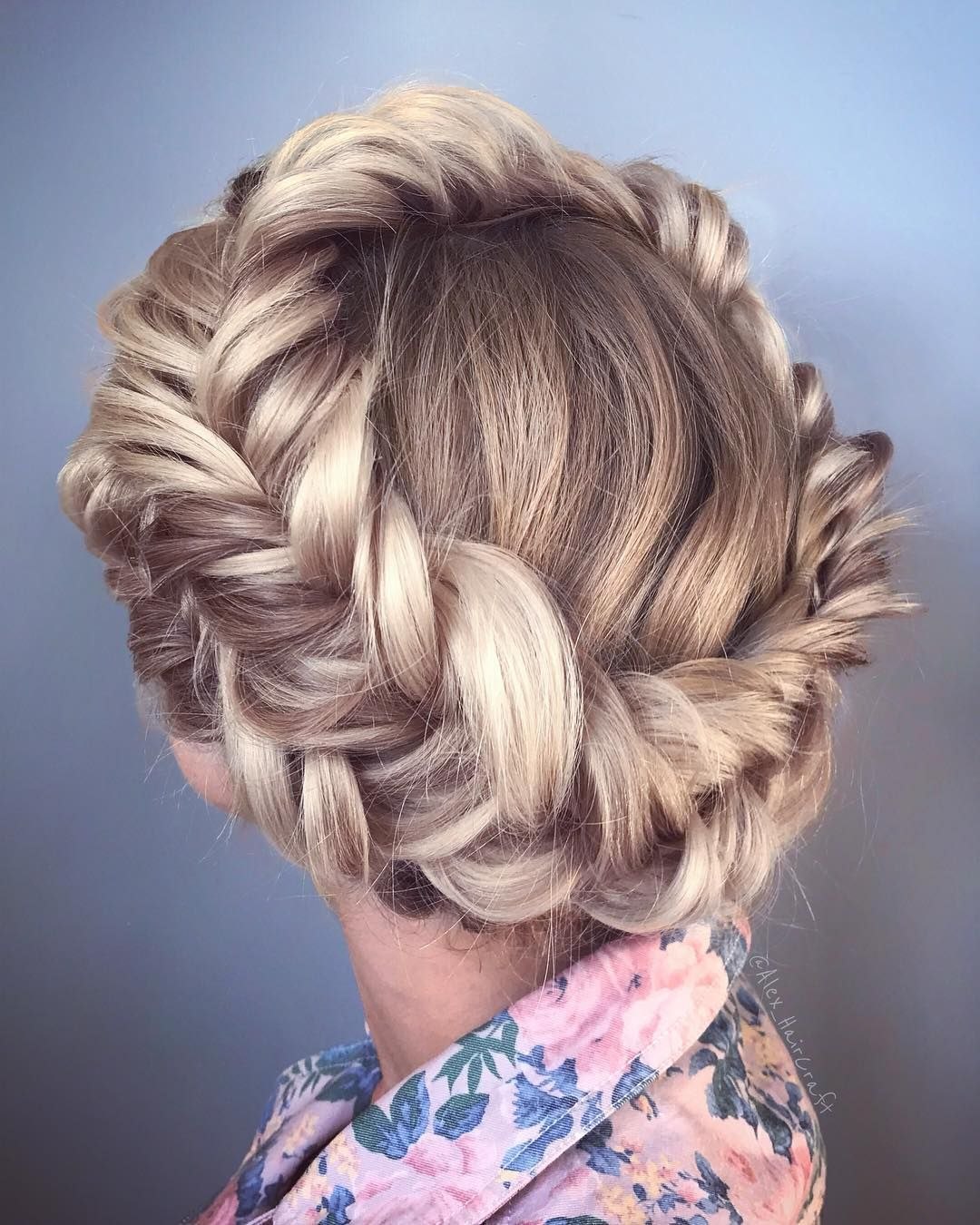 Gorgeous braided hairstyles alex pelerossi make up and hair