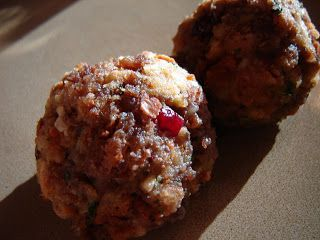 When Pigs Fly: Sausage Stuffing Balls