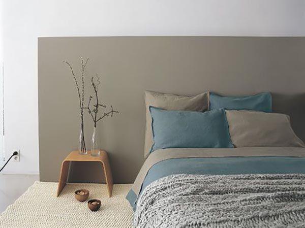 tete de lit peinture chambre parents. Black Bedroom Furniture Sets. Home Design Ideas