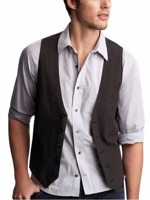 I love a good vest. You can wear them open or closed and tells ...