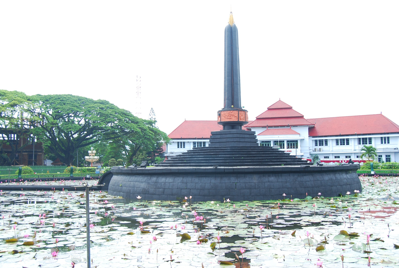 Tugu Balai Kota Malang Indonesia Indonesia Kota Malang