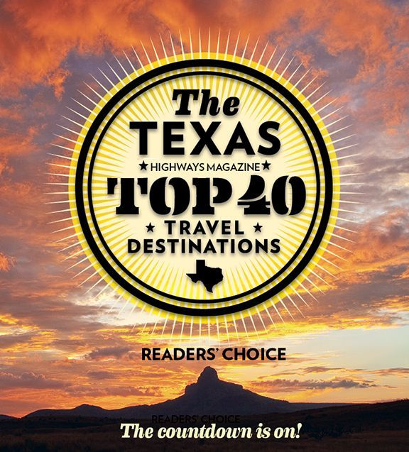 The Texas Highways Magazine Readers' Choice Top 40 Travel Destinations - No. 38, Bastrop, TX, is one of our Rural Communities!