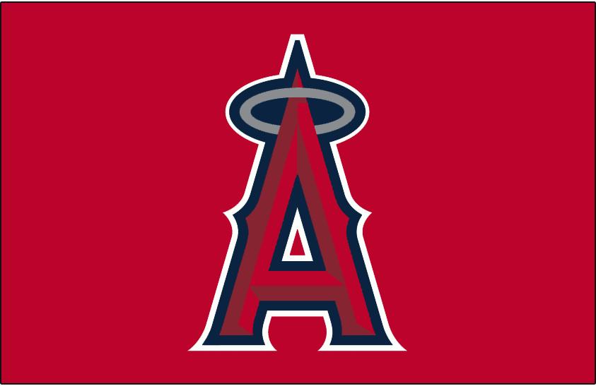 Los Angeles Angels Of Anaheim Cap Logo Anaheim Angels Los Angeles Angels Angels Baseball