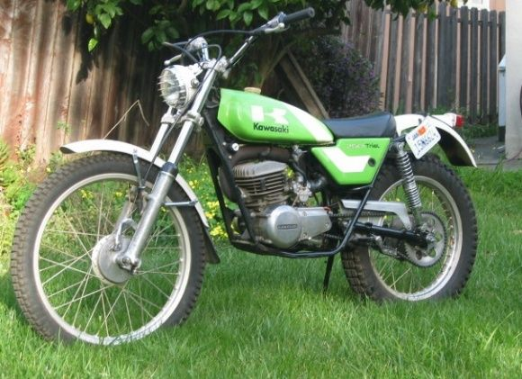 1975 kawasaki kt250 bikes pinterest bike trial bike and rh pinterest com