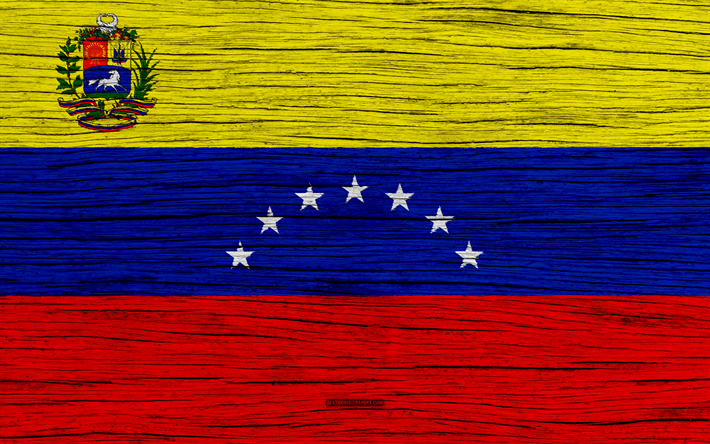 Download Wallpapers Flag Of Venezuela 4k South America Wooden Texture Venezuelan Flag National Symbols Venezuela Flag Art Venezuela Besthqwallpapers Com Venezuela Flag Venezuelan Flag Flag Art