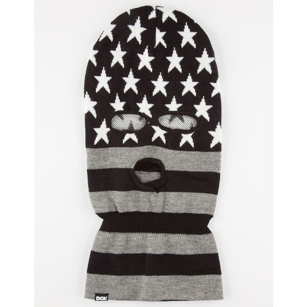 eb37132909 DGK Americana Ski Mask (1940 RSD) ❤ liked on Polyvore featuring men s  fashion