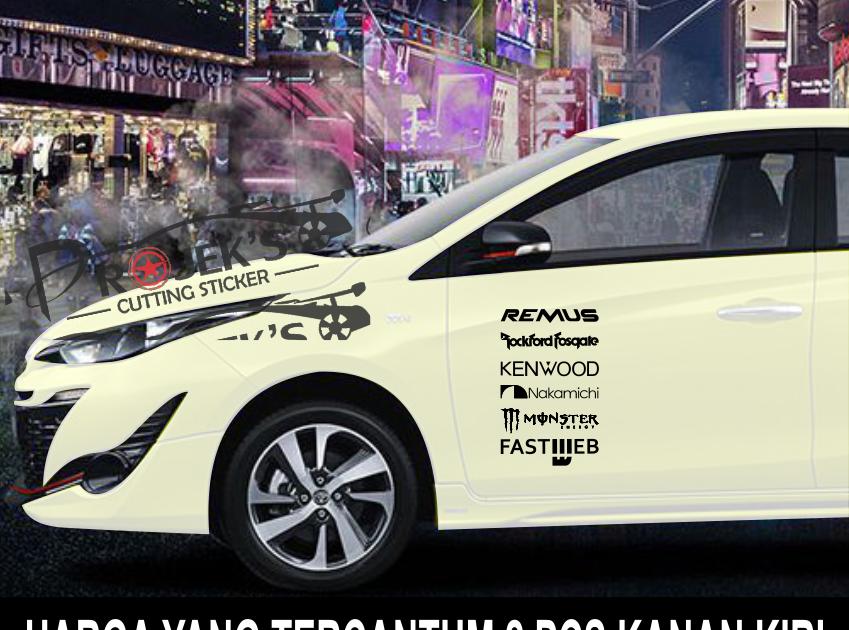 Stiker Mobil Honda Nuna Graphica Pekalongan Stiker Mobil Desain Mobil Balap Mobil