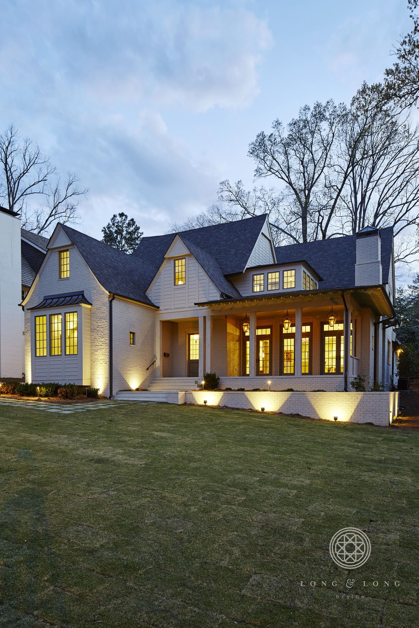 White brick and pretty lighting (With images) Craftsman