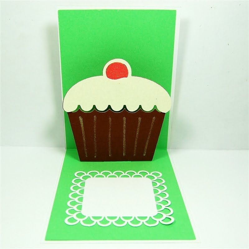 Printable Pop Up Birthday Cards ~ Printable pop up cards birthday cupcake projects to try pinterest